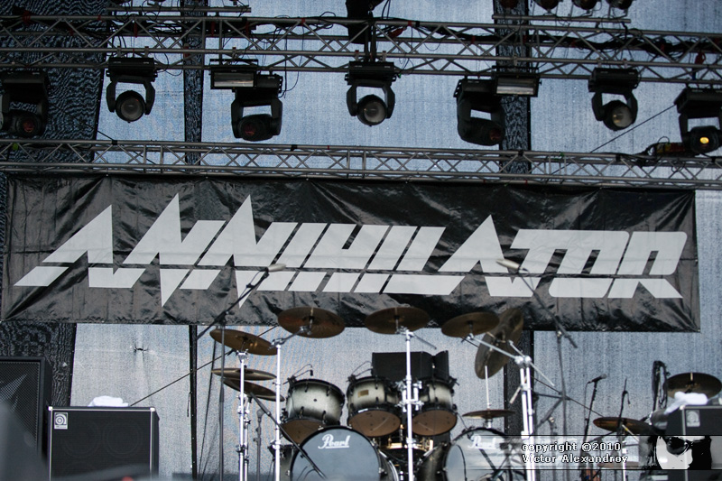 Annihilator backdrop