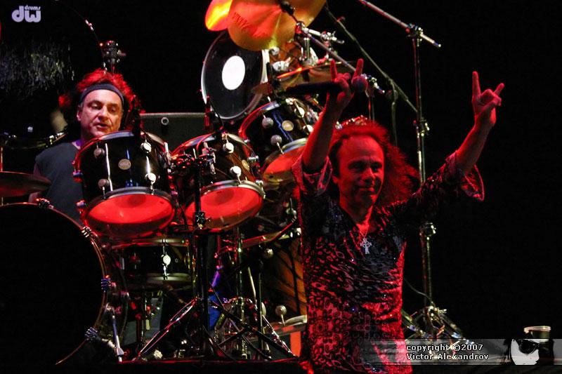 Vinnie Appice & Ronnie James Dio