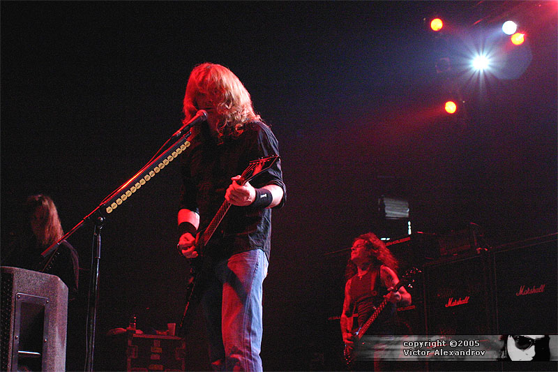 Dave Mustaine & James MacDonough