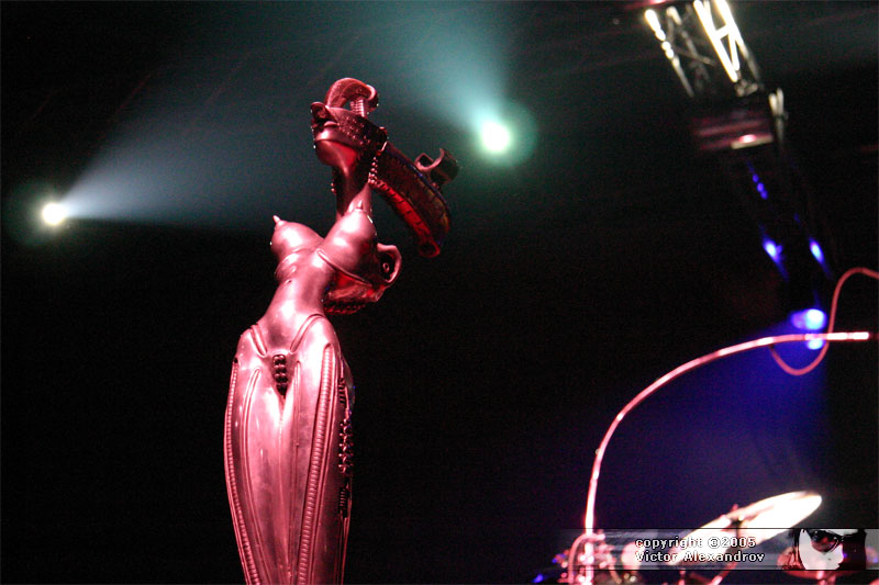 Giger stand