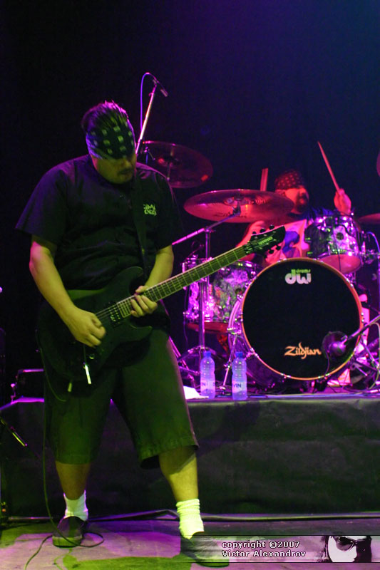 Mike Clark & drummer