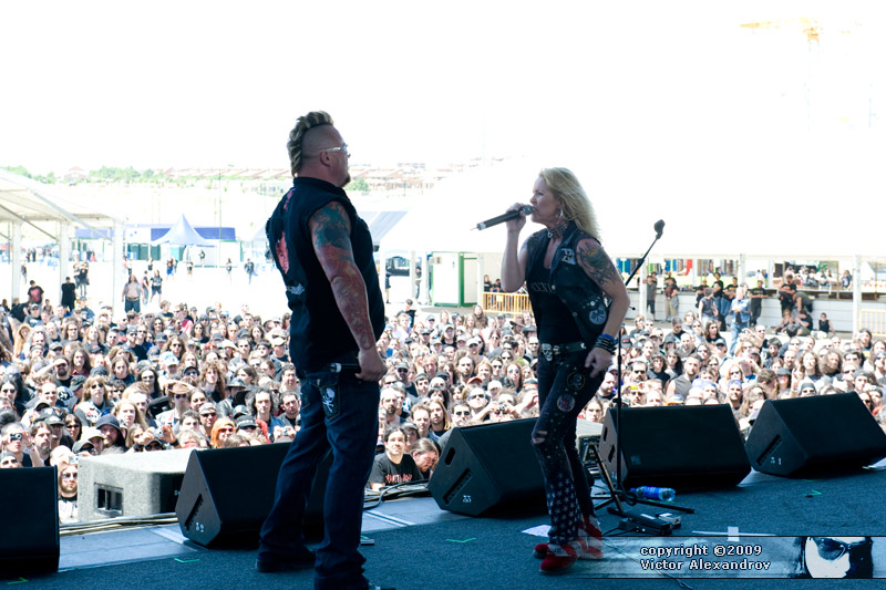 Jim Gillette & Lita Ford