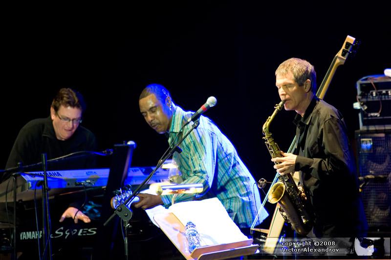 Ricky Petereson, Richard Patterson & David Sanborn