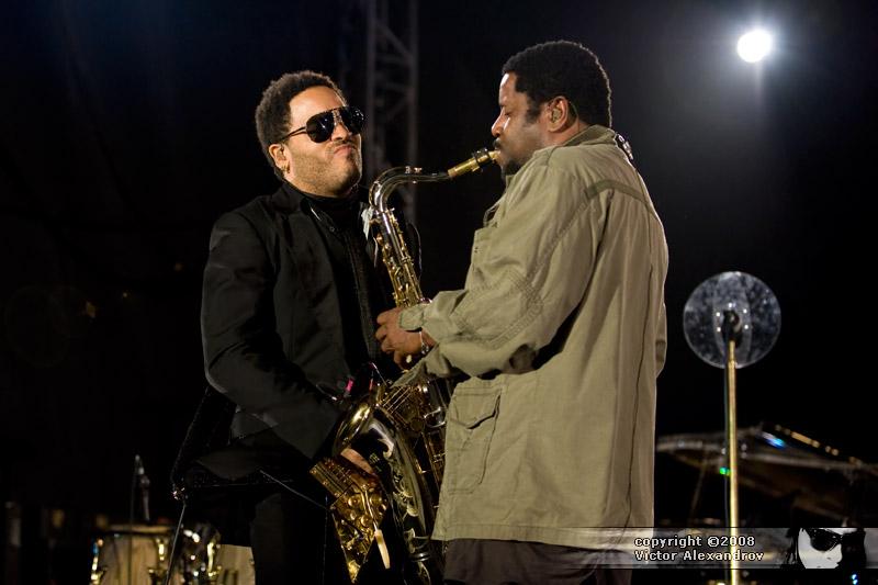 Lenny Kravitz & Sax