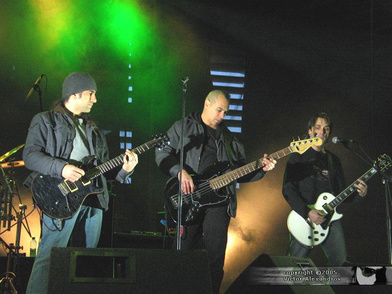 Jim Matheos, Joey Vera, Frank Aresti