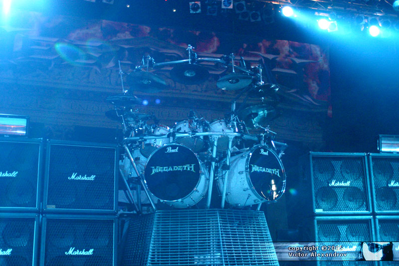 Megadeth backline
