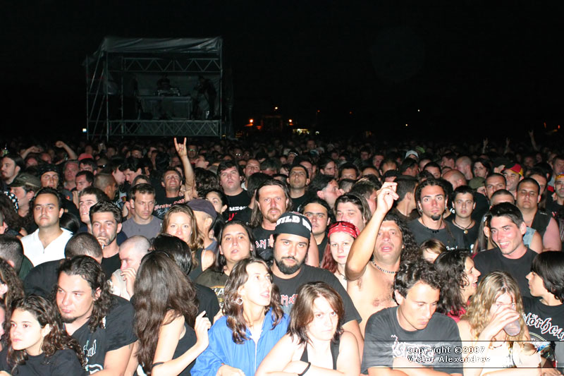 Motorhead crowd