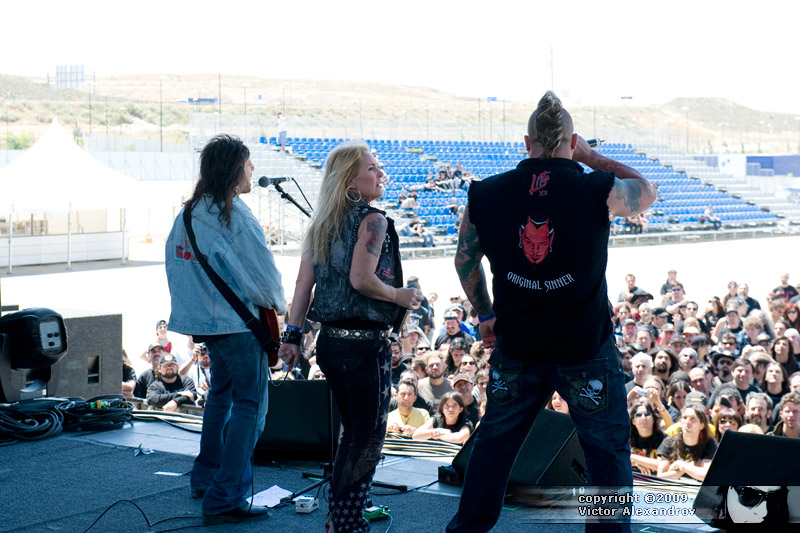 Ron Thal, Lita Ford, Jim Gillette