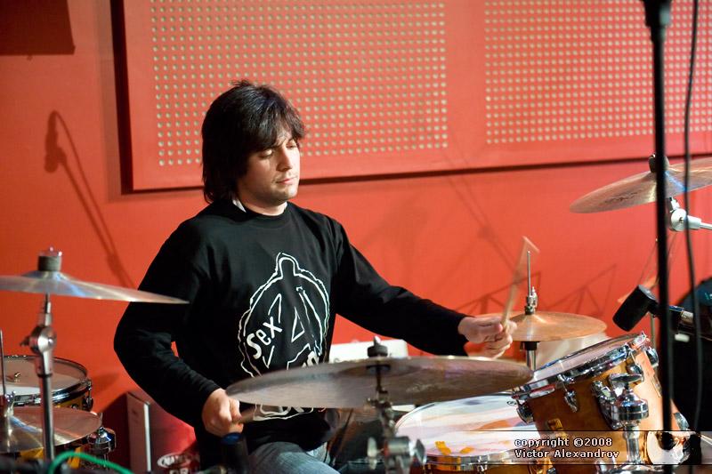 Stefan - drumset