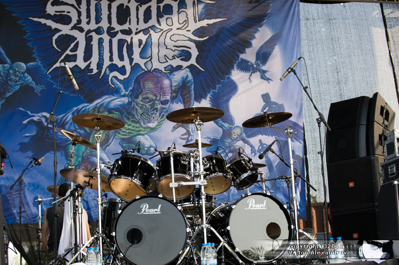 Suicidal Angels backdrop
